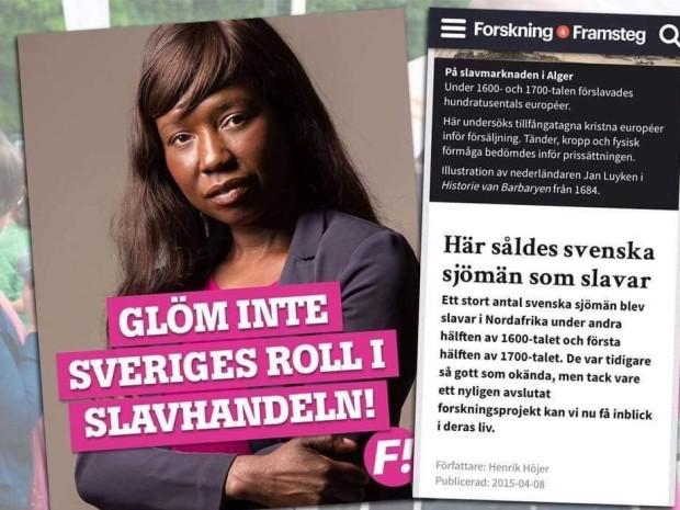 Sveriges roll i slavhandeln