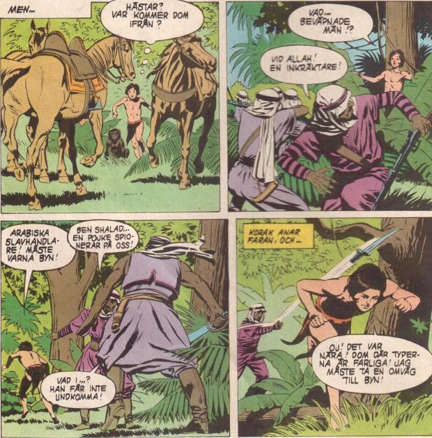 Tarzan och slavhandlarna
