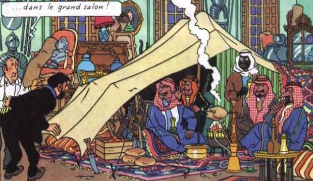 Araberna i Moulinsart