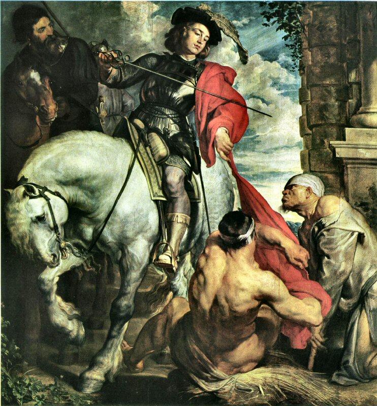 Sankt Martin och tiggaren